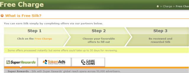 Você pode fazer pelo 'Super Rewards' , 'Token Ads' ou